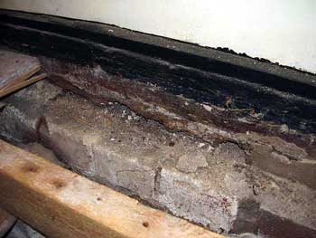 Wet Skirting Boards inside
