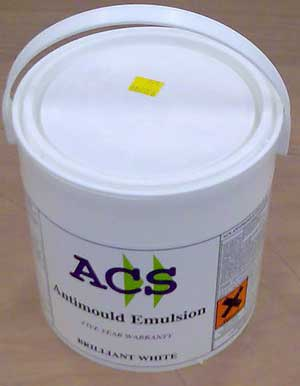 Emulsion paint for stopping the travel of Dry Rot