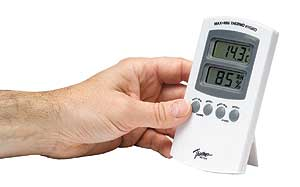 Home Humidity Meter - check the amount of moisture in your air.