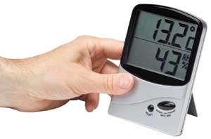 Large Numbers version of the Home Humidity Meter